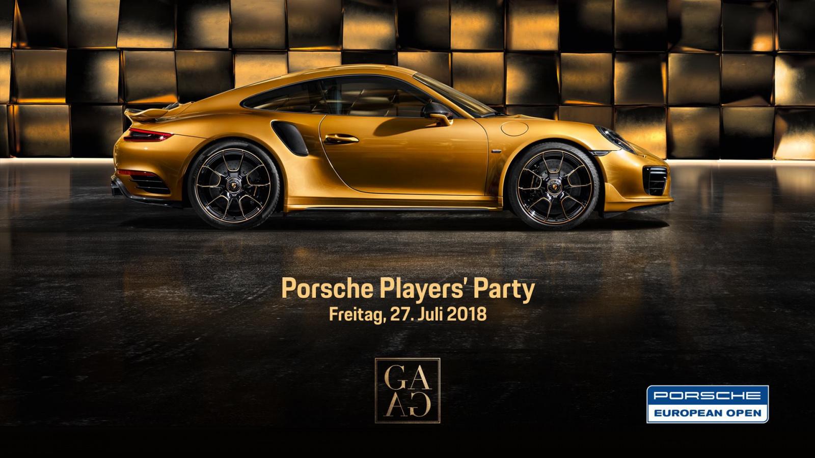 Players' Party - Porsche European Open