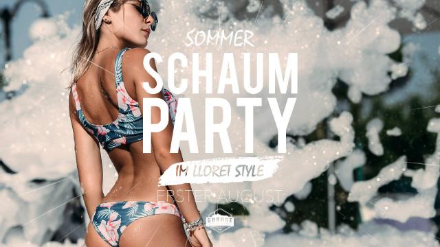 Sommer Schaum Party - Lloret Style!