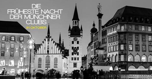 Die früheste Nacht der Münchner Clubs