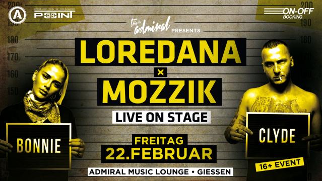 TIA presents LOREDANA x MOZZIK