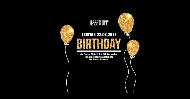 Birthday Friday
