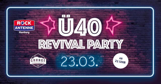 Ü40 Garage Revival Party meets Rock Antenne