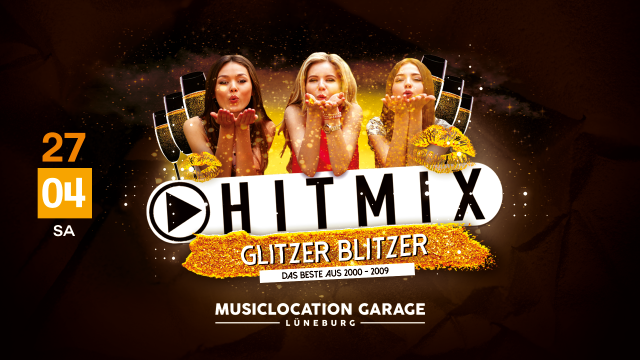 Hitmix 2000er - Glitzer Blitzer - Zauber Welt Party