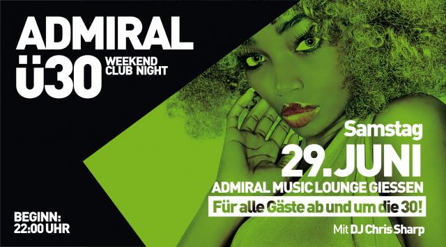 Admiral Ü30 Clubbing Night