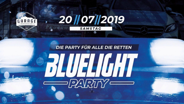 Bluelight Party | Die Party für alle die retten!