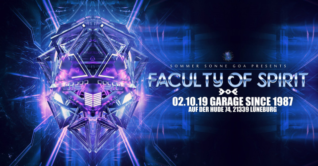 Faculty of Spirit - GOA Event