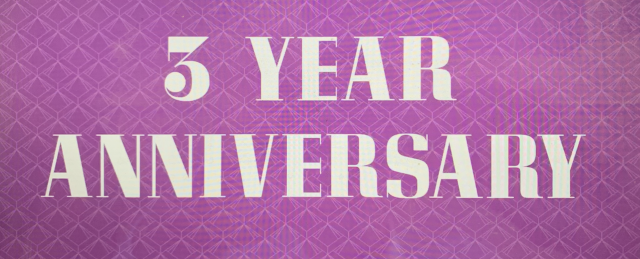 GAGA 3 Year Anniversary