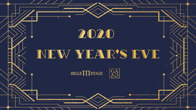 New Year's Eve 2020 by BELLE ETAGE & GAGA
