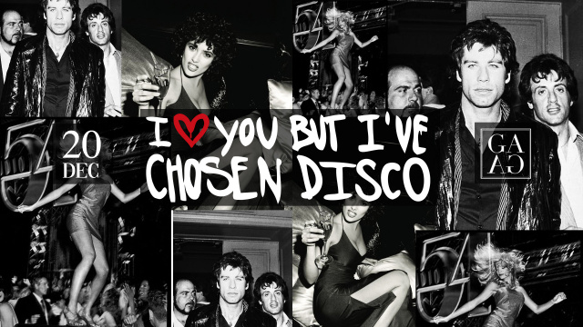 I Love You But I've Chosen Disco