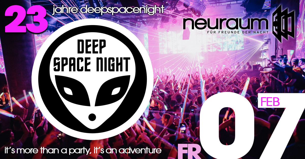 23 Jahre Deep Space Night