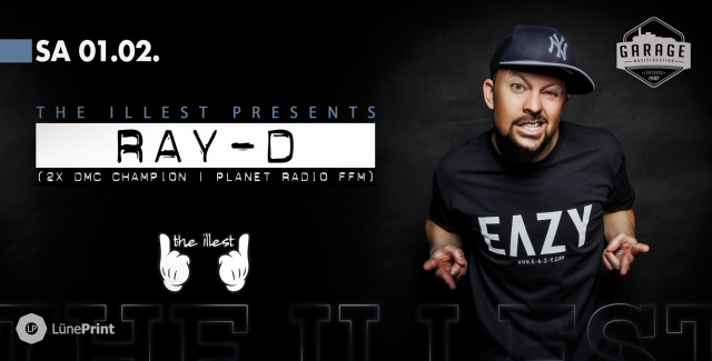 The illest presents: RAY-D (Planet Radio FFM)
