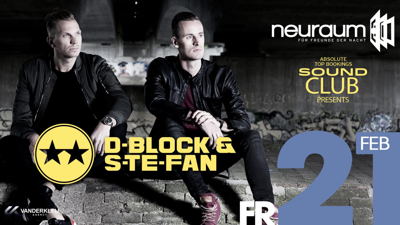 Soundclub pres. D-BLOCK & S-TE-FAN