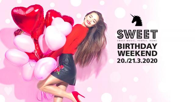 ❣ 3 Years SWEET NIGHTS - Weekend
