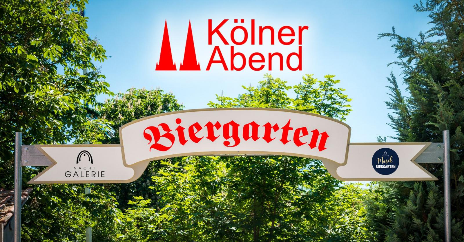 Kölner Abend Biergarten