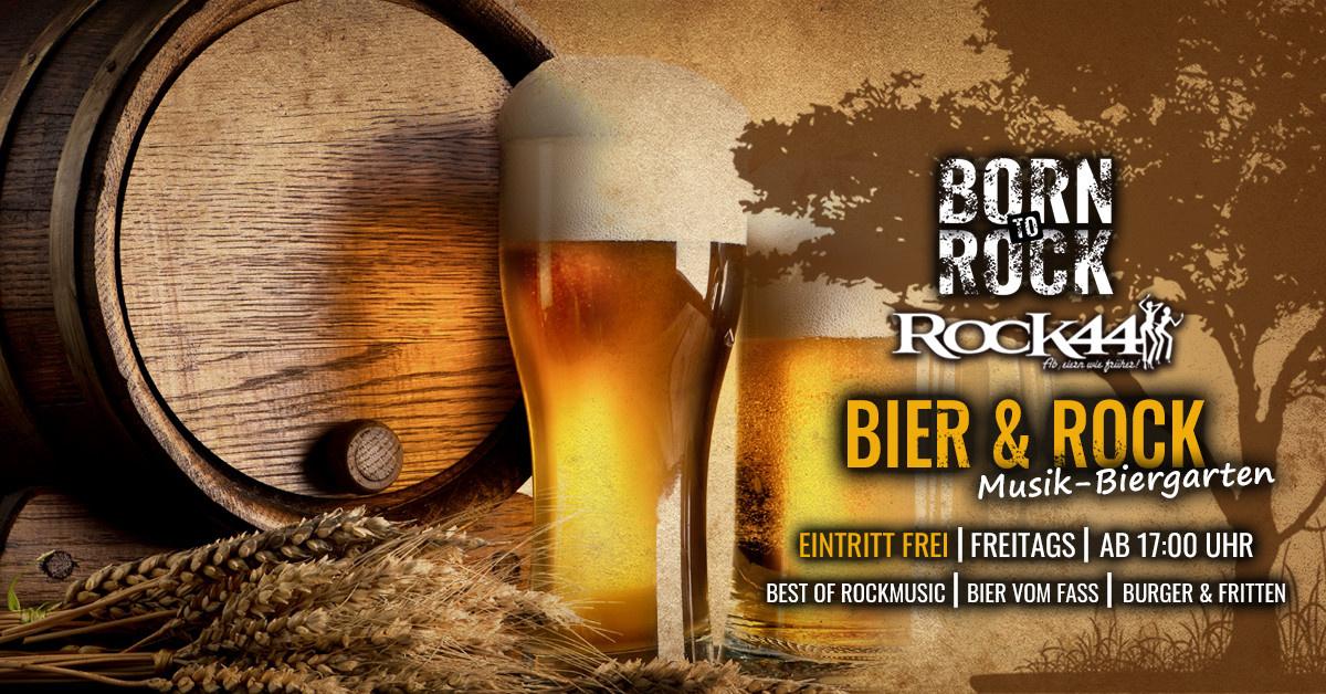 Bier & Rock @ Musik-Biergarten