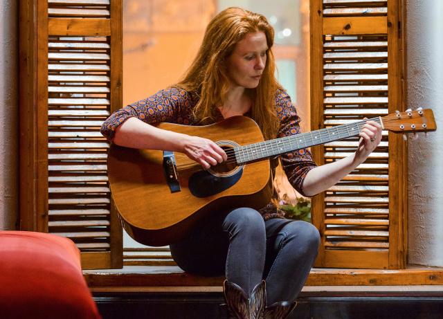 Karrie with Jimmy Smyth - Club (a)live