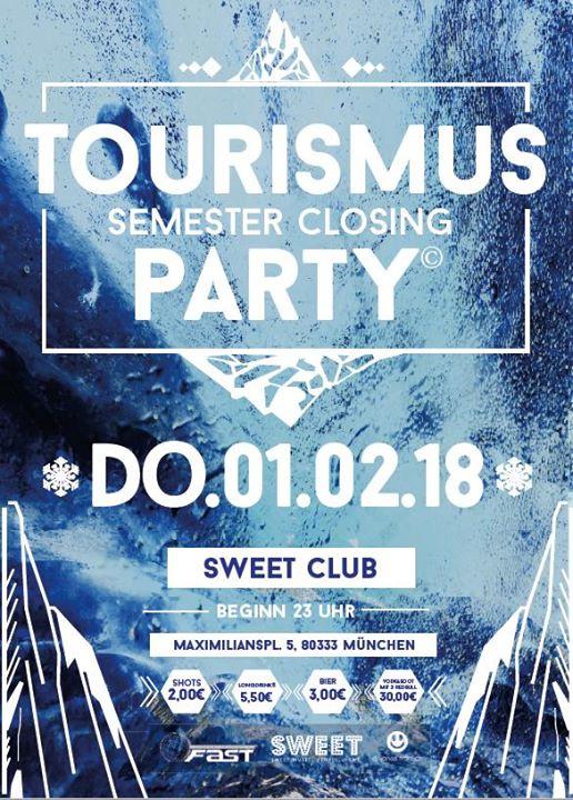 Tourismus Semester Closing Party